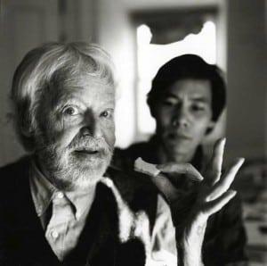Charles Henri Ford & Indra Tamang, 1997, by Arthur Tress