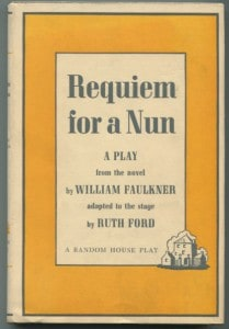 RequiemForaNunFaulkner,RuthFord1stRandomHouse1959